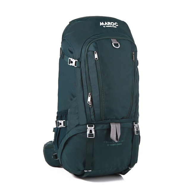 MAROC Travel Backpack 50L - Marrakesh Green